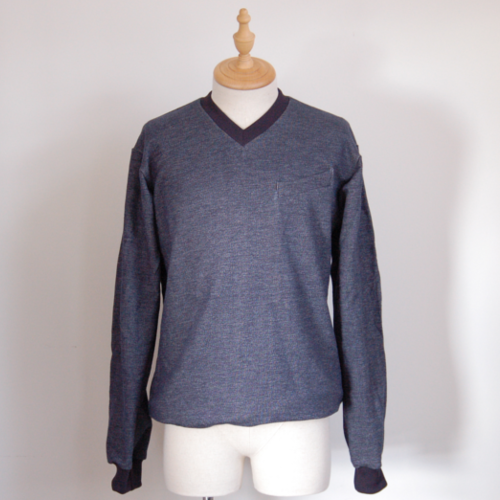 "Herren Sweater ""Smooth Summer Cotton"" navy"